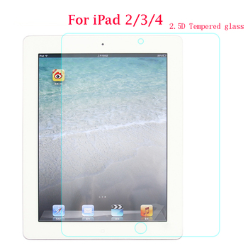 Temperli Cam Apple ipad 2/3/4 Ekran Koruyucu 9.7 '' 9 H 2.5D Film Kapak A1460 A1459 A1458 A1416 A1396 A1403 HD Cam Guard